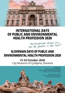 prvo obvestilo_Slovenski dnevi sanitarnega inženirstva 2020